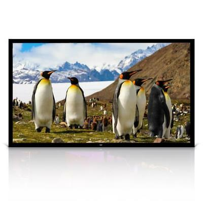 New Pyle PRJTPFL112 Home Theater Fixed Flat Projection Screen (110'' -inch)