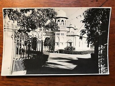 Wealthy Residence , Karachi British India 1940s RP Postcard Ref046