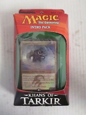 Magic: The Gathering Temur Avalanche Khans Of Tarkir Intro Pack - Rc 4741
