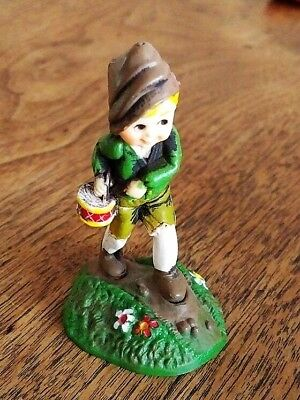 "1976 Hallmark Merry Miniature Christmas ""drummer Boy""  Used  Free Shipping"