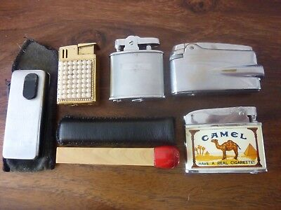 Vintage Ronson Varaflame Lighter In Original Box