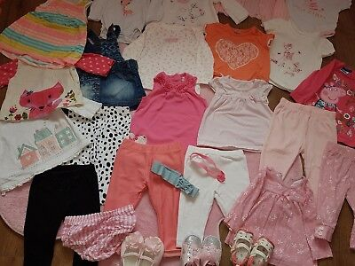 Girls Joblot Clothes Shoes 3-6 Months Excellent Condition!!