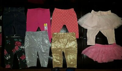Baby Girl Pants Bottoms Leggings Infant Sz 0/3 Months