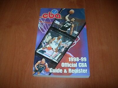 Cba Official Guide And Register 1998-99