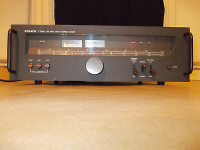 Vintage  STRATO T 7090 HIFI Stereo TUNER LW/MW/UKW T-7090