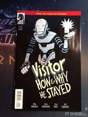 The Visitor: How and Why He Stayed #1 Dark Horse VF/NM HELLBOY (CBU089)