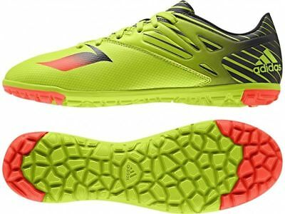 f030e741a585 NEW Adidas Messi 15.3 TURF TF Mens Soccer Cleats S74696 Green   Black MSRP   220