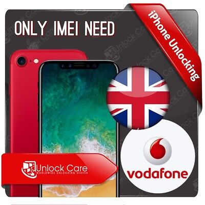 Iphone Vodafone Uk Iphone Unlock Service 4 5 5S 5C 5Se 6S 6+7 7+ Imei Only Uk