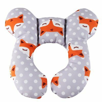 Baby Travel Pillow, KAKIBLIN Infant Head and Neck Support Pillow for Car Seat,