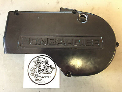 1975 Can Am Bombadier 250 Stator Cover Left Engine Cover Oem