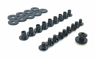 Grizzly - Black Chicago Screws For Leather/Kydex Gun Holsters/Clips