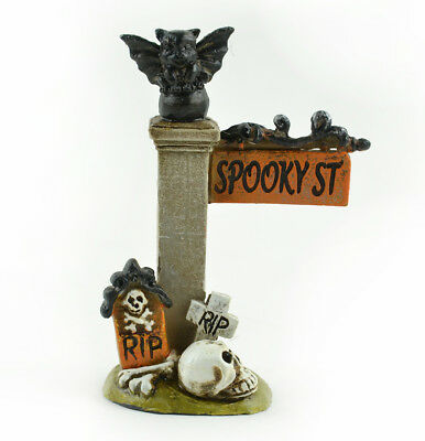 Fairy Garden Halloween Miniature - Spooky Street Sign