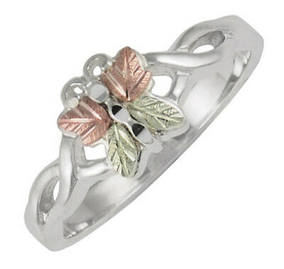 Black Hills .925 Silver Butterfly Ring Size 4 - 10