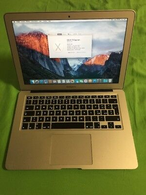 A10 Apple Macbook Air 13 2014 I5 1.4 4 Gb 128gb Ssd Laptop Notebook A1466
