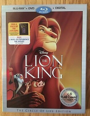 The Lion King (BluRay/DVD/Digital) - Walt Disney Signature Collection w/ Lithos