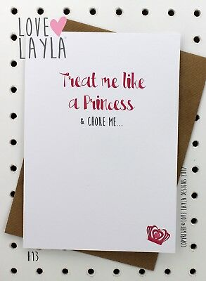 Greeting Card Birthday Card/Comedy/Novelty/Funny/Humour/Love Layla/CME