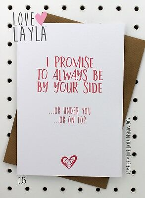 Greeting Card Birthday Card/Comedy/Novelty/Funny/Humour/Love Layla/OTP