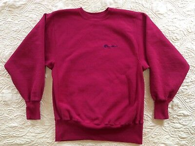 Vintage Champion Reverse Weave crew neck sweatshirt size L Spell Out USA #9-14