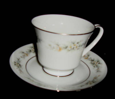 Noritake 2 Melissa Contemporary Footed Cup And Saucer