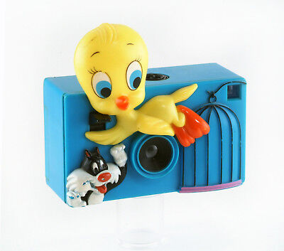 Sylvester& Tweety Rare Vintage 126 Camera By Helm Toy Corp.1980.working & Nice!