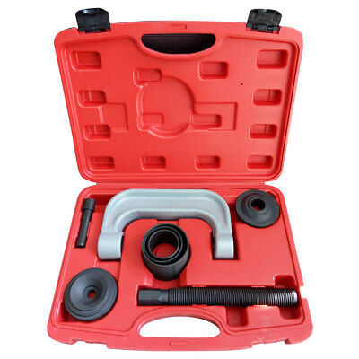 U Joint C-Frame Press Ball Joint Service Auto Tool Kit Black 3-IN-1 W/ Manual