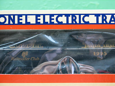 Lionel 1995 Railroader Club Single-Dome Tank Car 6-19935