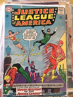 DC Silver Age Justice League Of America 24 3.0 Not CGC Or CBCS