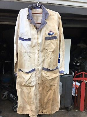 Outfit Coveralls Mechanic Attendant gas station Retail Standard Oil Steampunk