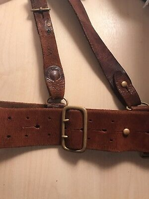 ww1 german original tunic belt hooks 163 7 99 picclick uk
