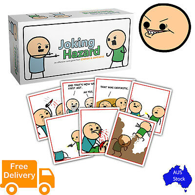 Joking Hazard - Offensive Card Game from Cyanide & Happiness (Im)mature Content
