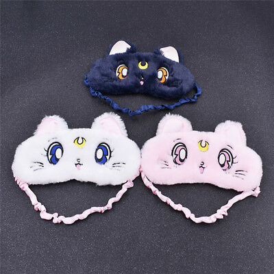 Anime Sailor Moon Eye Patch Sleeping Eye Mask Blindfold Cover Fashion Goggles