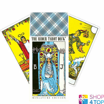 Miniature Rider-Waite Tarot Deck Cards Esoteric Telling Games Systems New