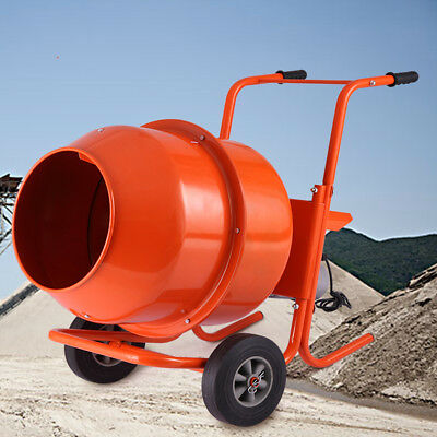 5cuft Mixer Concrete Cement Mortar Portable Electric Barrow Machine Heavy Duty