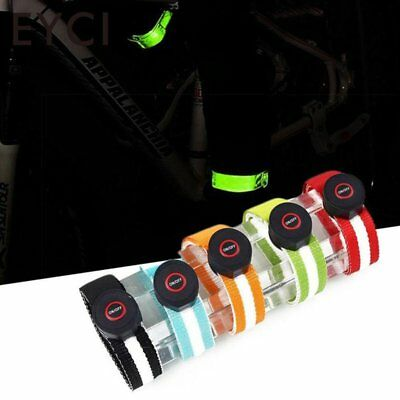 5 LED Light up Arm Leg Security Band Strap Belt Wrap For Jogging Running Cycling