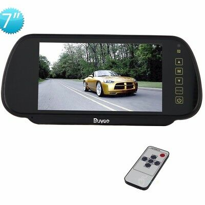 7'' LCD Color Screen 2 Video Input Car Rear View Camera DVD VCR Mirror Monitor