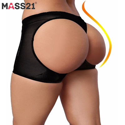 Women Body Shaper Briefs Butt Lifter Panty Booty Enhancer Hip Push Up Booster