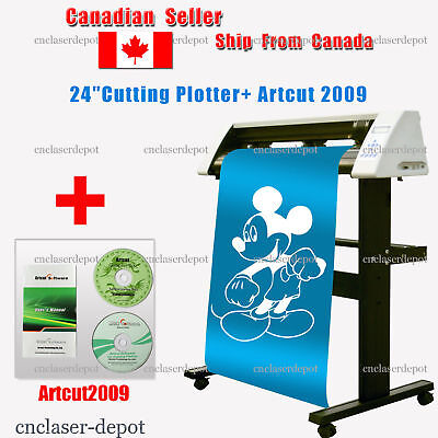 """Redsail 24"""" Cutting Plotter USB Vinyl Cutter RS720C With Stand Artcut2009"""
