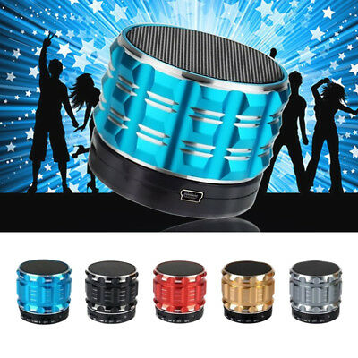 Mini Portable Bluetooth 4.0 Wireless Subwoofer Super Bass Stere Speaker Subwoofe