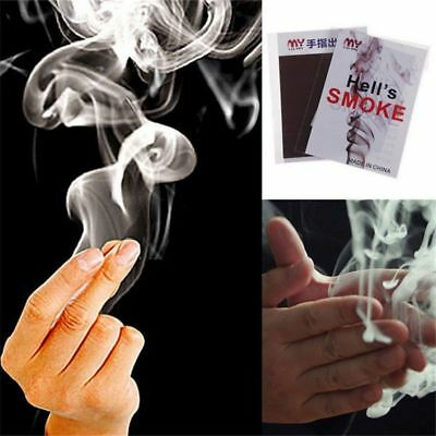 Fun Adorable Finger Smoke Magic Trick Creative Illusion Stage Close-Up Stand-Up