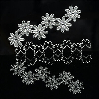 Blume&Bowknot Stencil Cutting Dies Scrapbook Embossing Schablone HOT
