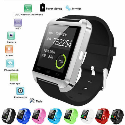 New Bluetooth Smart Watch For Android iOS SIM Slot Touch Screen NFC Phone Mate