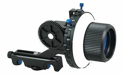 DSLR Follow Focus F4 Quick Release for 15mm Rail Rig Support