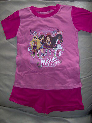 'Moxie Girlz' Shorty Pink Pyjamas   -Age 5/6 Years  With Shorts