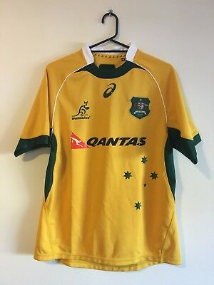 Australia PLAYER ISSUE WALLABIES 2015 Rugby Jersey Shirt *BNWT* Size XXL