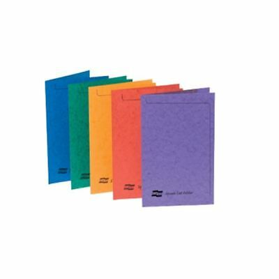 Europa Foolscap Assorted Square Cut Folder Pack of 50 4820 [GH4820]