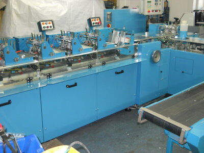 Kuvertiermaschine Buhrs BB300