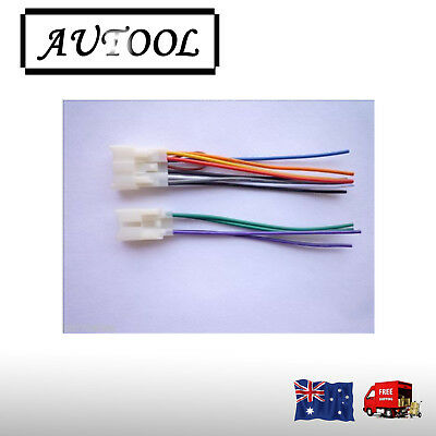AUDIO HARNESS CABLE for Toyota original Head unit Stereo ... on