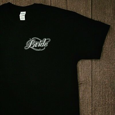 Bride Bridal Wedding Hen T-shirt Black Unique Custom Design Tattoo Size - Large