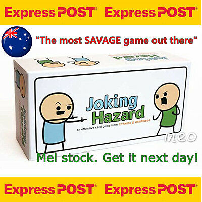 Joking Hazard Game Card Party Cyanide And Happiness Box Edition FREE EXPRESS