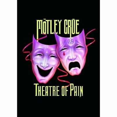 Motley Crue Theatre Of Pain Postcard Standard Band Music Official